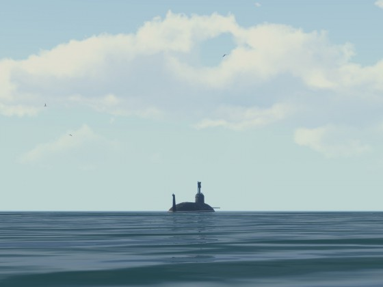 Das ist ein U-Boot.